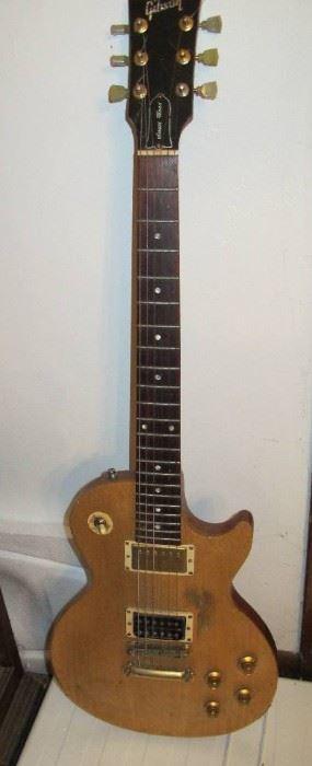 Gibson Guitar.  BID ONLINE at https://narhiauctions.hibid.com/auction/231629/online--robert-j--strong-estate/