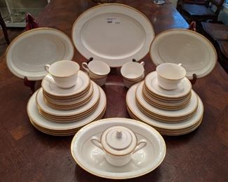 "42-piece set of Noritake ""Linton"" china, active pattern since 1966."