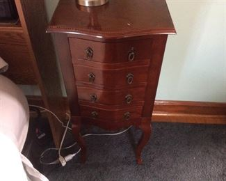 side night stand. $ 55.00