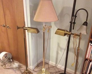 floor lamps. 45.00. Each