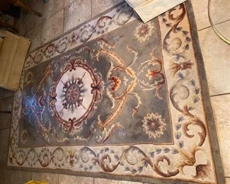 "10.Matching Wood Carpet  96""L x 59.5""W    $95"