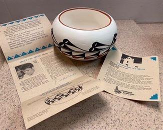 39.Martha Leeds Laguna Pottery  $34