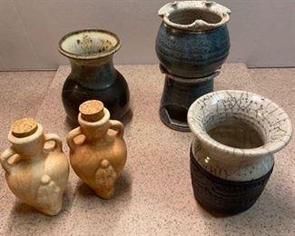 44.Pottery Lot (5 pieces)  $24