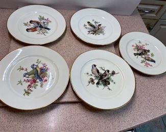 45.5 Bird Plates  W. Germany   $20
