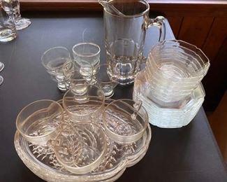 42.Glass Lot – 3 sets   $24