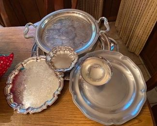 48.Silver Lot – Pewter & Silver Plated  $30