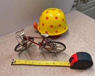 24.Bicycle (as is) & Fitz & Floyd Bank   $16