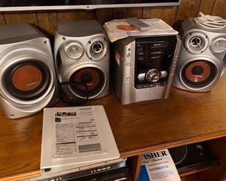 14.Panasonic stereo   $95