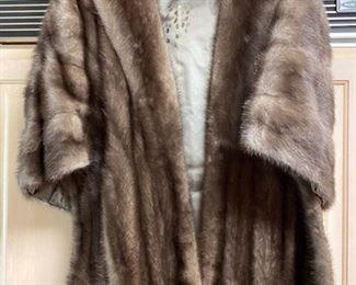 17.Ferris Mink Shawl Size 6-10  $150