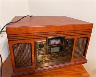 50.Crosley CD Radio w/Turntable  $40
