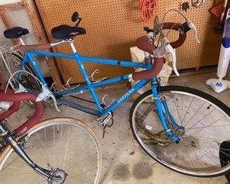 83.Man & Women's Tandem Bike Santana w/Gel Flex Seats $795