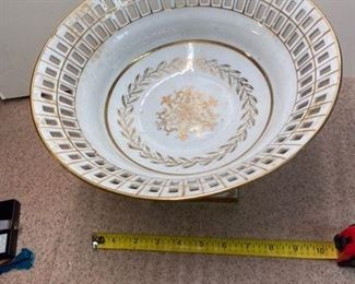 64.White Porcelain Compote $20