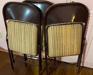 102. 3 Folding Chairs $30