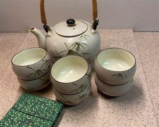 34.Tea Set (as is)  $10