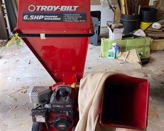 $350 Troy bilt chipper shredder