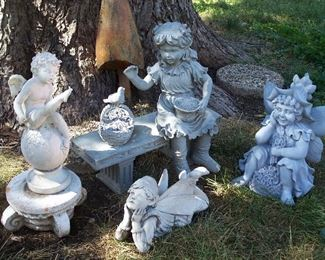 Garden statues and figurines