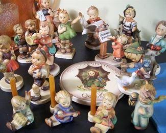 Vintage Goebel Hummel figurines