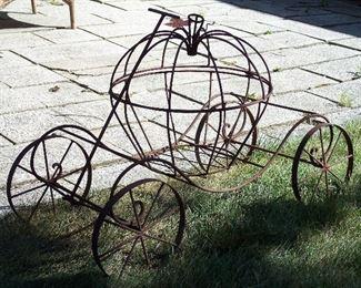 Rustic Harvest display carriage