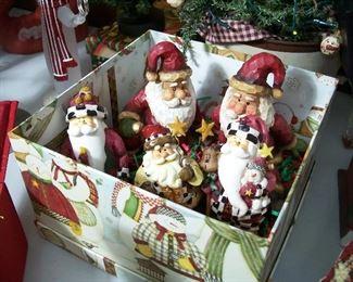 Nothing beats a boxful of Santa