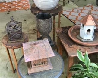 Outdoor plants and decor galore