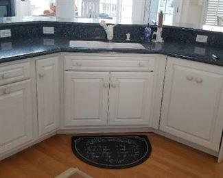 Wood=Mode kitchen island with sink & BOSCH dishwasher