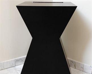 Black Geometric Display / Plant Stand
