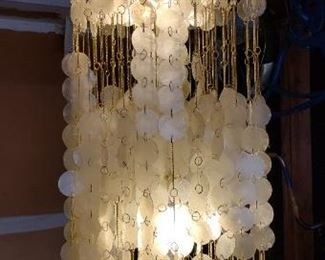 Medium Capiz Shell Chandelier