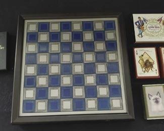 Franklin Mint Civil War Chess Set