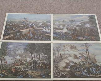 4 Famous Battle Prints