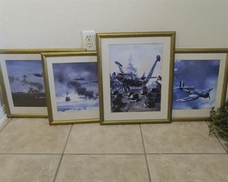 Navy Aircraft in WWII & Korea Battle
