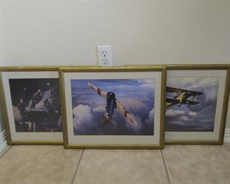 WWII Navy Training Aircraft Prints