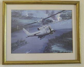 Framed Navy Iroquois