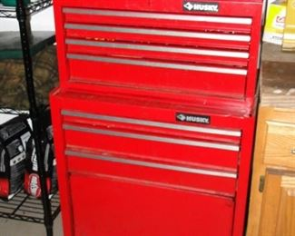 Husky tool boxes 2 parts