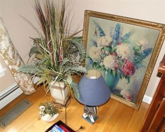 Floral Art and decorative items