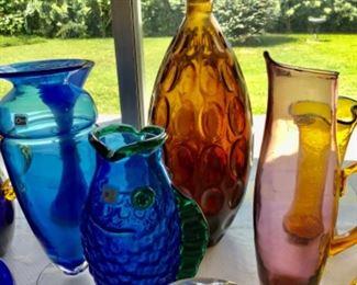 Blenko and Murano glass