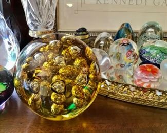 Collection of nice Paperweights