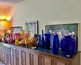 Blenko, Murano etc glass