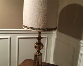 . . . a nice brass lamp