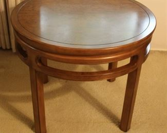 "#5 $125.00 Baker end table 22""h X 26.25"""