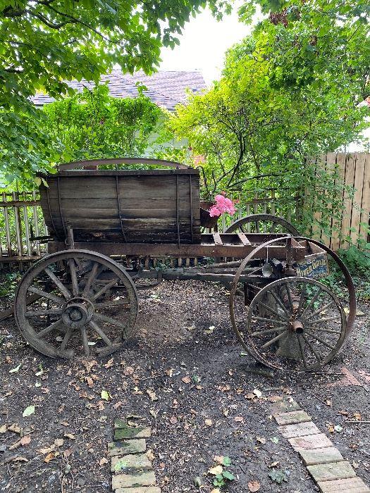 Primitive Milk Wagon