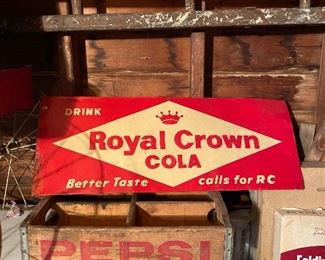 Royal Crown Cola Metal Sign