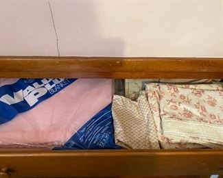 Vintage Linens and Blankets