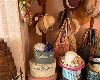 Hat Racks/Vintage Hats