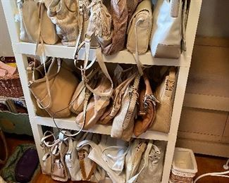 Lots & lots of purses new with tags