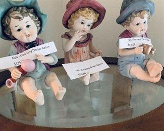 Heubach bisque babies- adorable