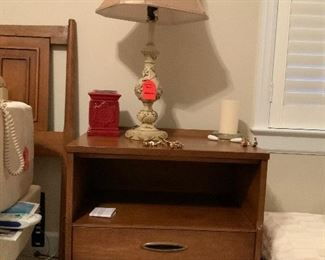 Broyhill Sculptra Premier modern nightstand from the late 1950s.