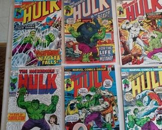 Comic Books  of all kinds and conditions!  There is one room dedicated to comic books.
