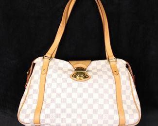 Louis Vuitton Damier Azure Handbag