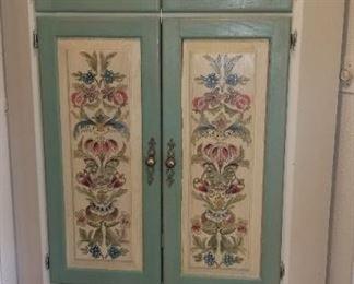Unique Corner Cabinet