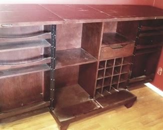 Grand Style Furniture Company, amazing how it folds up so compact! Perfect for a downtown loft.